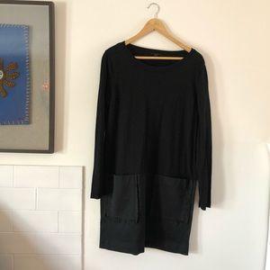 COS wool/cotton/silk sweater dress